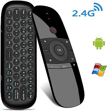 Mini Teclado inalámbrico para PC, portátil, tabletas, Teclado inalámbrico portátil 2.4 G Smart TV Remoto para Android Smart TV Box, proyector (Keyboard): Amazon.es: Electrónica