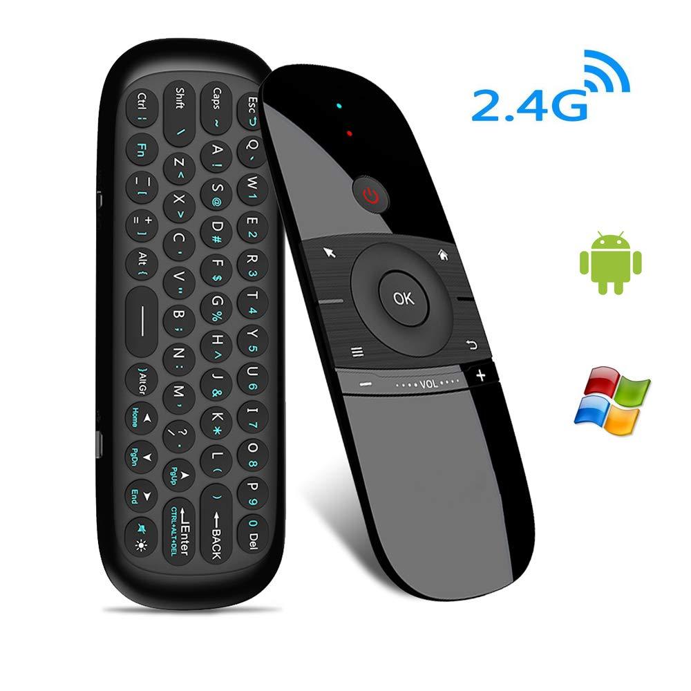 Ordinateur Clavier Air Mouse Raspberry Pi et Lecteur multim/édia K57 Mac t/él/écommande Smart TV Clavier sans Fil Combo USB pour PC Mini Clavier sans Fil HTPC