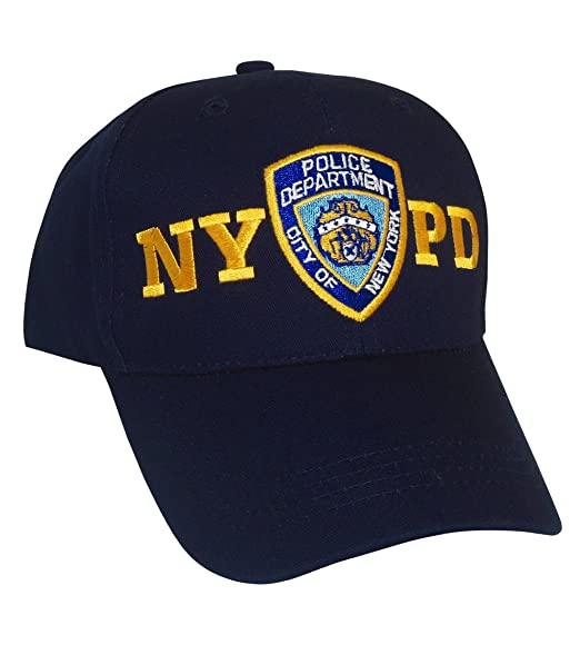 Amazon.com  NYPD Baseball Cap - New York City Police Department ... a33bcffeeb3