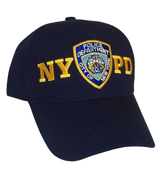 Amazon.com  NYPD Baseball Cap - New York City Police Department ... 5e3ef785905