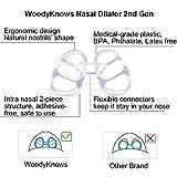 WoodyKnows Anti-Snoring Advanced Nasal Dilators