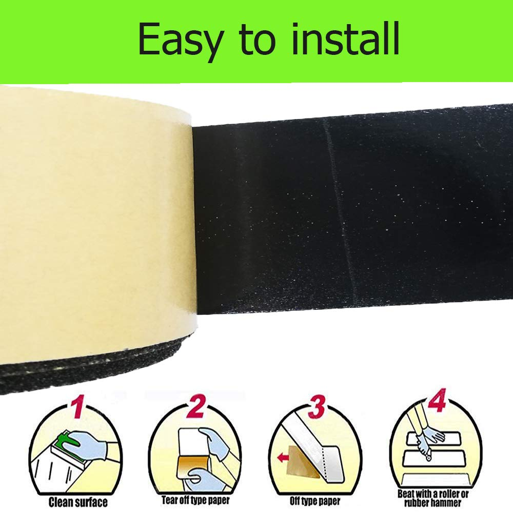 Anti Slip Tape Non-Slip Traction Tapes Strong Adhesive Non Slip Grip for Safety, Stairs, Steps, Ladders Indoor/Outdoor 2 Inch x 16.4 Foot