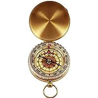 AMOYER Estilo Reloj de Bolsillo clásico Bronceador Antiguo