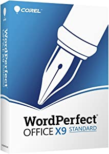 Corel Wordperfect Office X9 - All In One Office Suite [PC Disc]