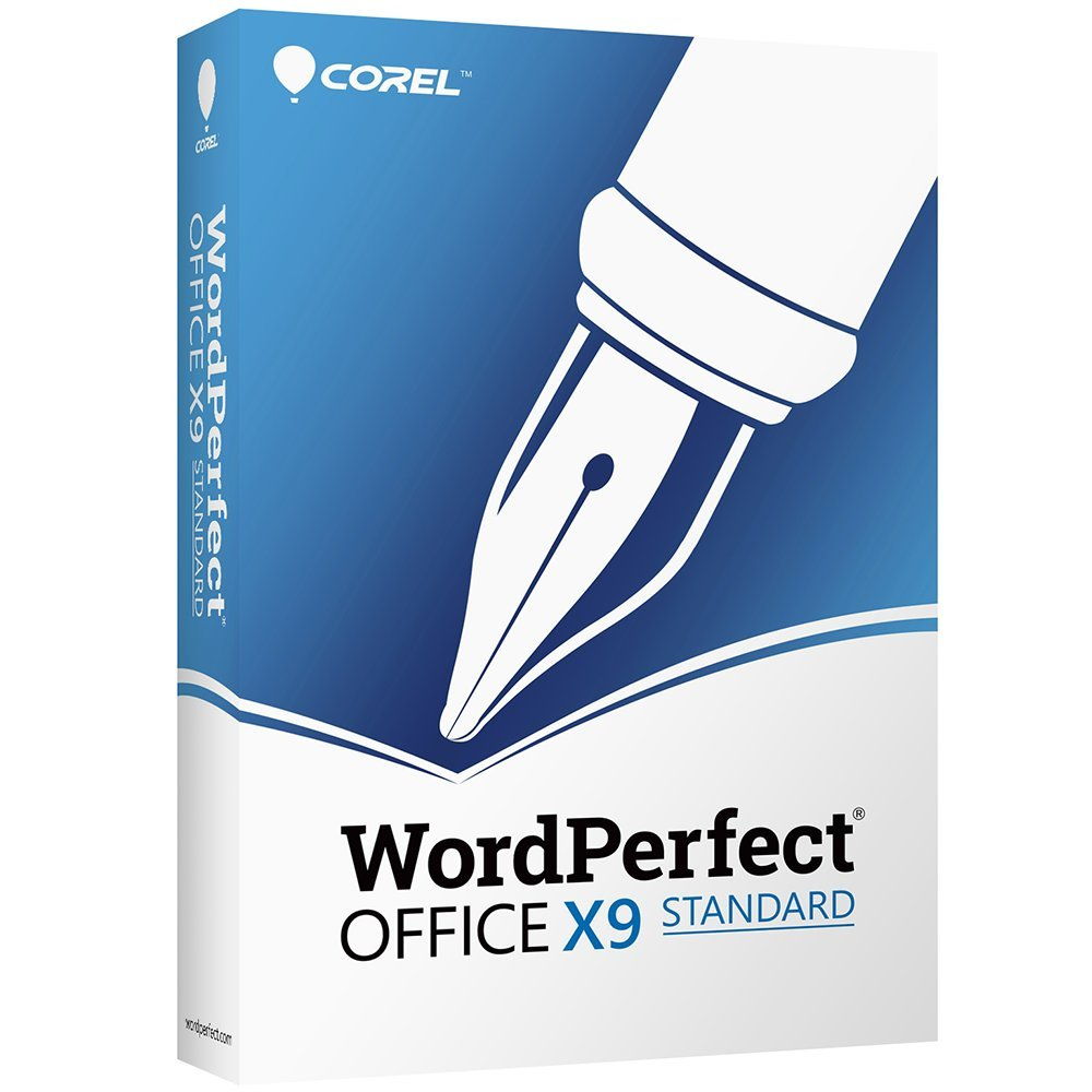 Corel WordPerfect Office X9 - All in One Office Suite - Upgrade [PC Disc] by Corel