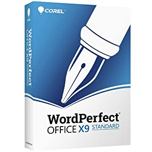 Corel WordPerfect Office X9 - All in One Office Suite - Upgrade [PC Disc]