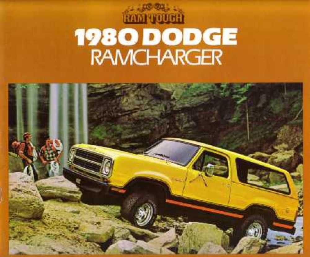 1980 Dodge Ram Truck Original Sales Brochure