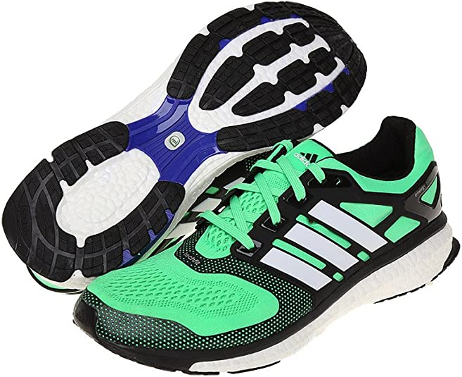 adidas Energy Boost Zapatillas de Correr para Hombre, Hombre, Color Verde, 48: Amazon.es: Deportes y aire libre