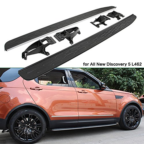 (Side Steps For Land Rover Discovery 5 LR5 2017 2018 2019 Door Nurf Bar OEM Style)