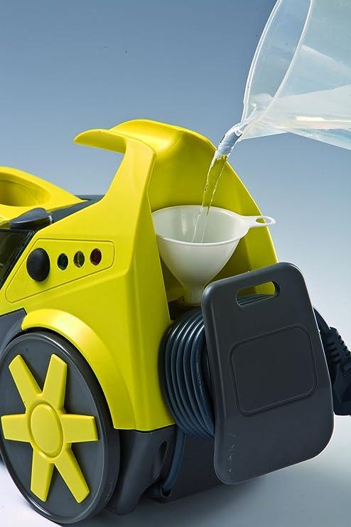 Ariete 4143-1 Limpiadora de Vapor, 1300 W, 0.5 litros, Negro, Amarillo: Amazon.es: Hogar