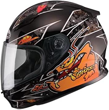GMAX GM49Y Alien Snow Helmet Snowmobile Youth Kids