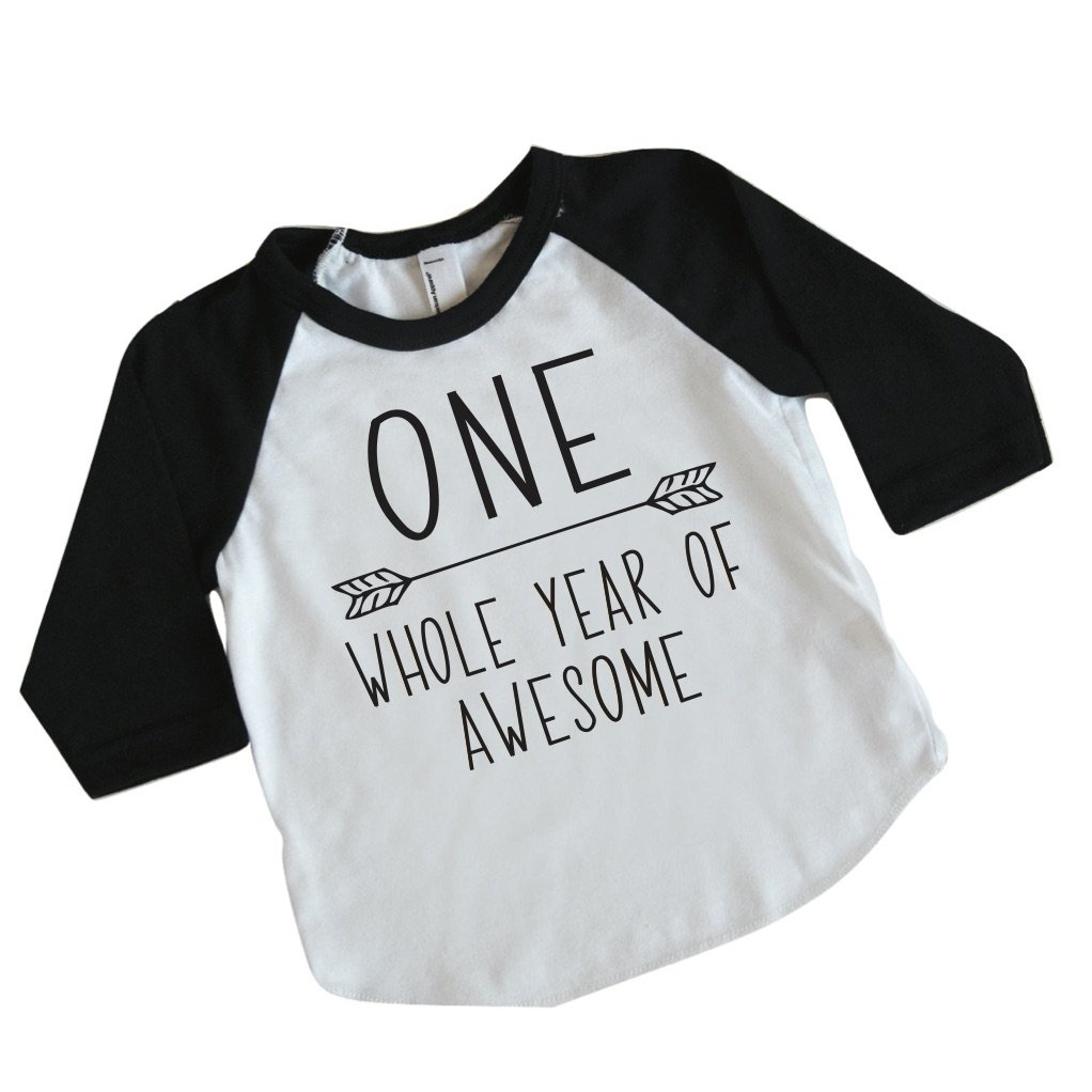 Amazon.com: Boy First Birthday Shirt, 1st Birthday Boy Outfit (12 18  Months): Baby