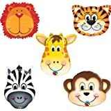 amazoncom assorted animal print balloons package of 100