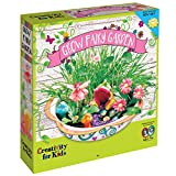 Creativity for Kids Grow Your Own Fairy Garden by, Including Soil, Seeds, Paints, Gems, Pixie Dust and Everything You Need to Grow Your Own Magical, Enchanted Fairy Garden, Indoors or Outdoors