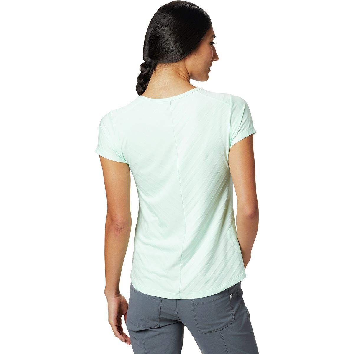 407b57df0811 Mountain Hardwear Mighty Stripe Short-Sleeve T-Shirt - Women's at Amazon  Women's Clothing store: