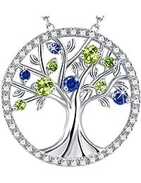 Tree of Life Jewelry September Birthstone Created...