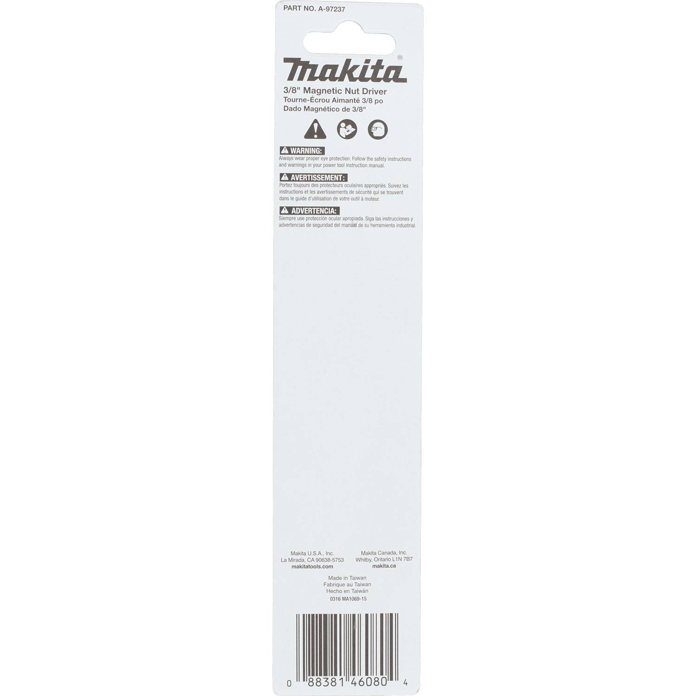 Bulk 10-Pack Makita A-99471 Impactx 3//8 x 6 Magnetic Nut Driver