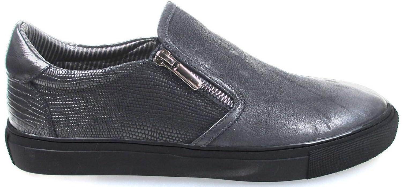 Belmondo, Zapatos de Cordones de Cuero Hombre, Negro (Nero), 46