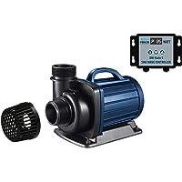 AquaForte DM-10.000S Vario Bomba para Estanque, Azul y Negro