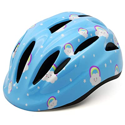 M Merkapa Kids Bike Helmet Adjustable Bicycle Helmets for Toddler and Youth : Sports & Outdoors