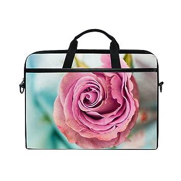 Bennigiry Funda para Ordenador Portátil DE 14 a 15,6 Pulgadas, Diseño de Pétalos de Rosa, Color Rosa: Amazon.es: Informática