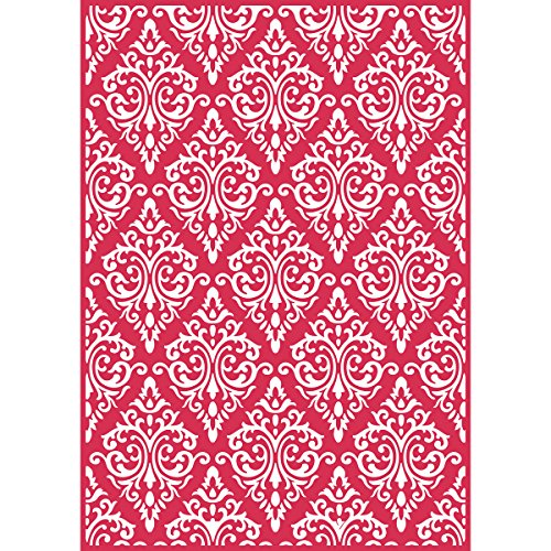 Craftwell USA Teresa Collins Embossing Folder, Beautiful Brocade by Craftwell USA