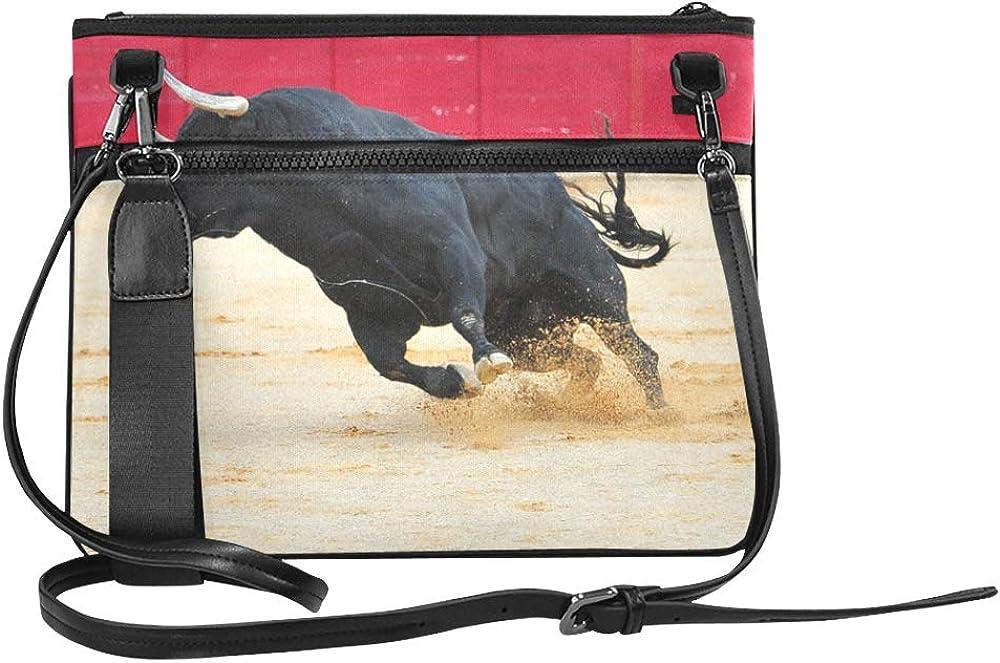 Cross Body Book Bag Romantic Bullfighting City Spanish Adjustable Shoulder Strap Fashion Tote Bag For Women Girls Ladies Shoulder Bag For Girls Cross Body Bag Cute