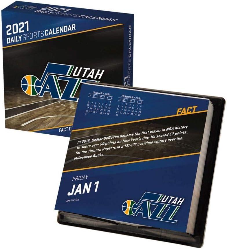 TURNER SPORTS Utah Jazz 2021 Box Calendar (21998051508)