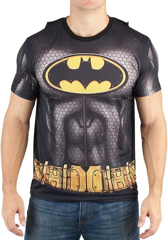 BATMAN Men's Sublimated T-shirt With Cape