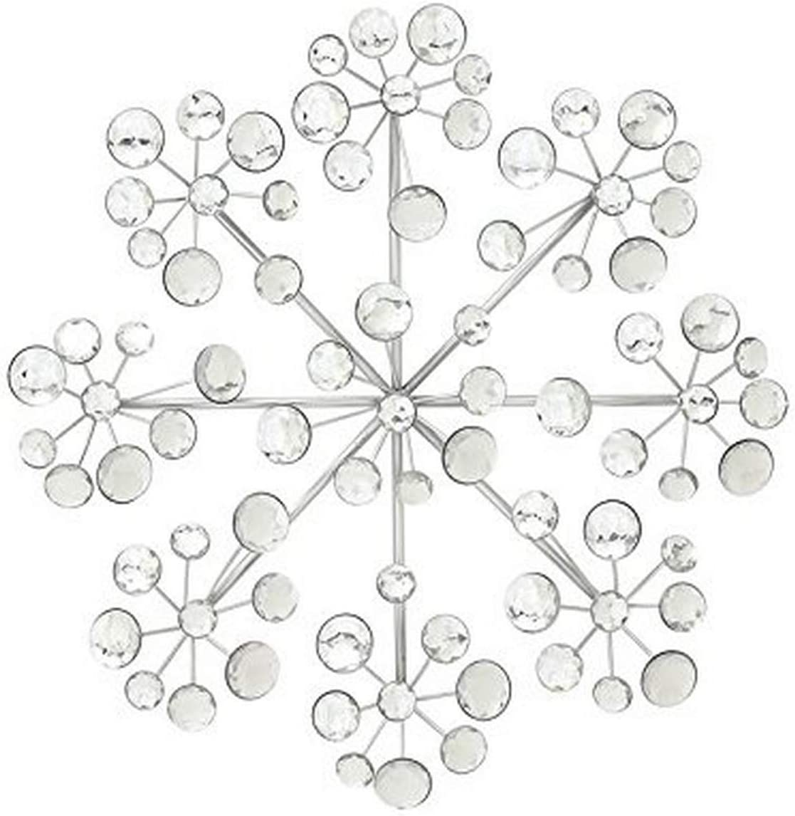 Deco 79 48650 Metal Acrylic Wall Decor, 16""