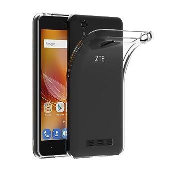 AICEK Funda ZTE Blade A452, ZTE Blade A452 Funda Transparente Gel Silicona ZTE Blade A452 Premium Carcasa para ZTE Blade A452