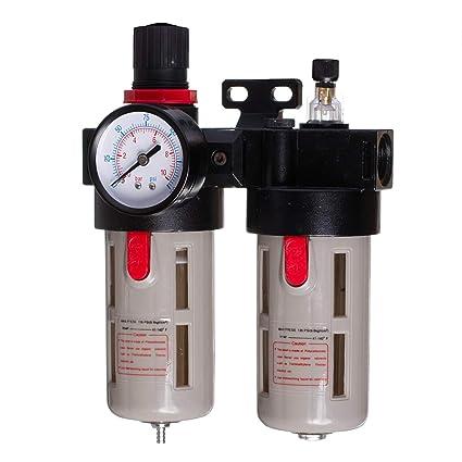 Unidad de mantenimiento de aire comprimido manorreductor Lubricador para compresor Impacto