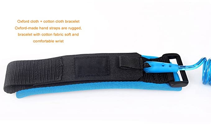 Kids Hillento Baby Child Anti Lost Safety Wrist Link Harness Strap Rope Leash Walking Hand Belt for Toddlers 1.5m Blue