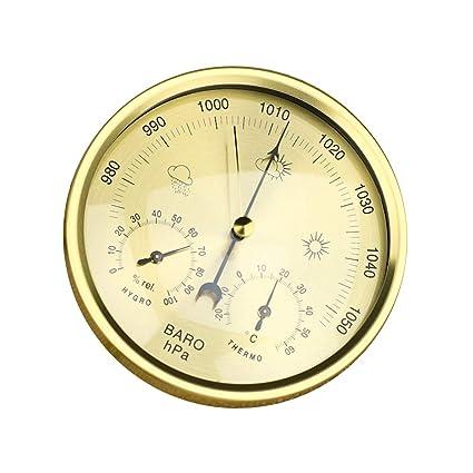 e42d55373 Niocase Barómetro de la Estación Meteorológica Interior, Funciones del  Termómetro Higrómetro, Medición Temperatura Humedad