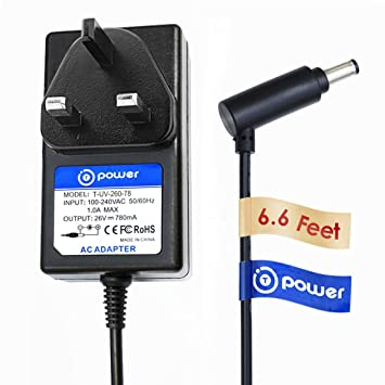 T-Power Cargador (6.6 ft cable largo) para Dyson v6 (DC58 ...