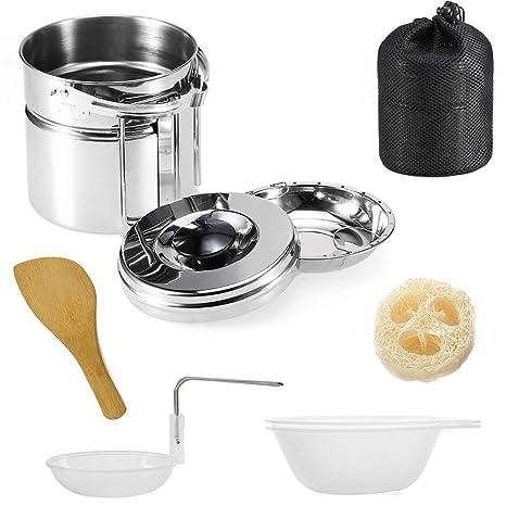 Juego de utensilios de cocina de acero inoxidable 304 para ...