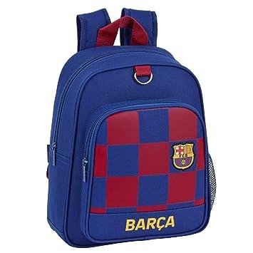 FC Barcelona - Mochila (27 x 10 x 33 cm), Color Azul y Rojo ...