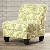Havertown Elegant and Stylish Slipper Chair, Green