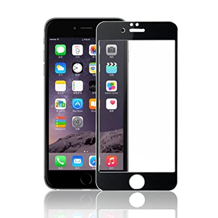 buy online 401c5 77451 FON Full Body Coloured Tempered Glass for Apple iPhone 6/6S (Screen Size -  4.7