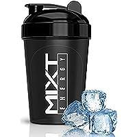 MIXT Energy Shaker Bottle, 16 oz, Black