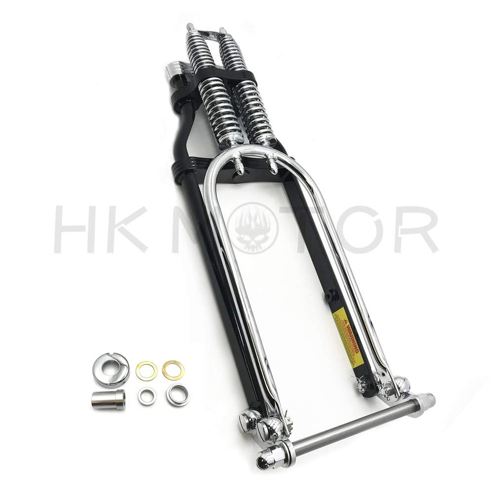 20 2 Under Chrome Springer Front End With Axle kit Compatible with Harley Chopper Bobber Arched B07MMSQHLK HONGK