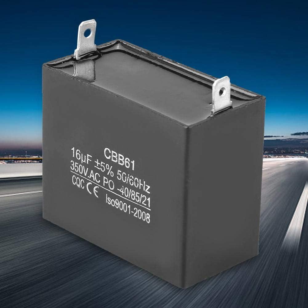 60Hz-Kondensator,CQC 350V AC 16uF Start Kondensator CBB61 50