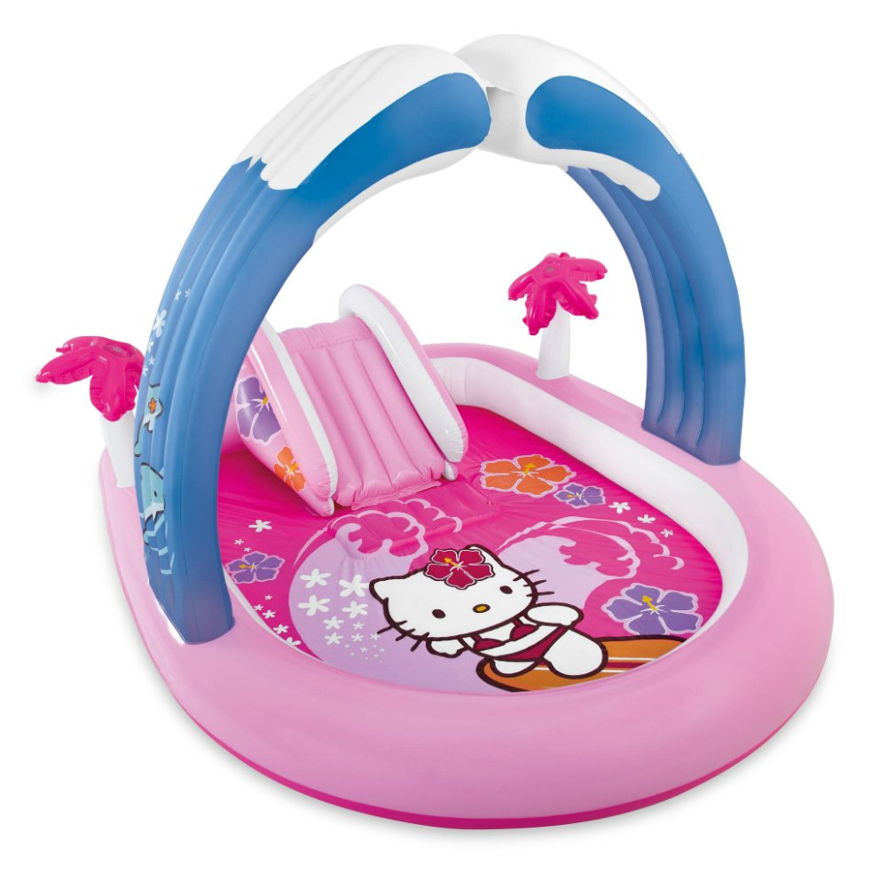 Intex Hello Kitty Inflatable Play Center, 83'' X 64'' X 51 1/2'', for Ages 2+ by Intex