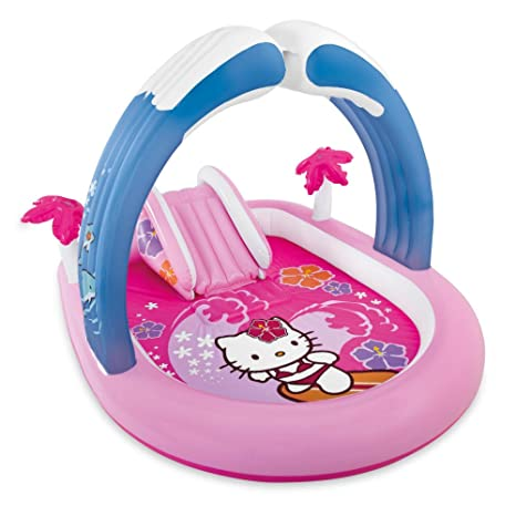 hot sale online 4d701 31713 Amazon.com  Intex Hello Kitty Inflatable Play Center, 83