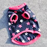 Dog Clothes - dog clothes for small dogs winter vest Dog jackets Pet Product Cat Clothing Soft Padded Vest small dog clothes roupa de cachorro - Small Dog Clothes (XS)