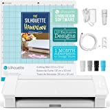 """Silhouette White Cameo 4 w/ Autoblade, 12""""x12"""" Cutting Mat, 3X Speed, Roll Feeder, User Guides, Designs, and More"""