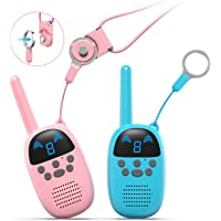 Gocom 9 Channels Two-Way Radio Kids Walkie Talkie (Blue / Pink)