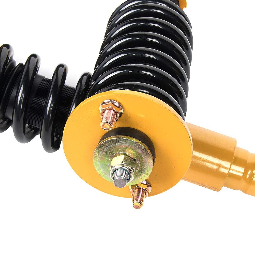 OCPTY Coilovers Suspension Lowering Kit Adjustable Full Coil Springs Struts Shock fit for 1997 1998 1999 2000 2001 Honda CR-V