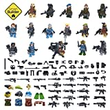Set of 16 Military Figures special forces with military accessories