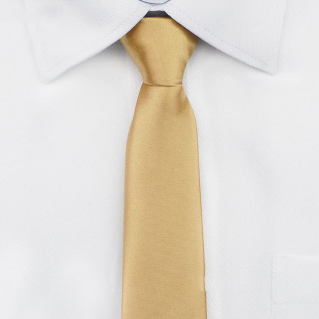 Zipper Corbata Slim Mens Classic Colores sólidos lazos ,Rayas ...